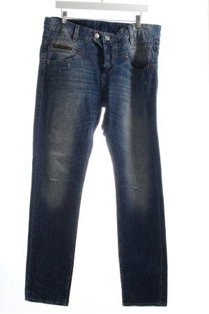 Herrlicher Slim Jeans blau Jeans-Optik