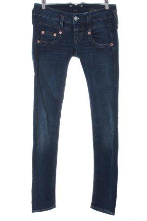 Herrlicher Slim Jeans dark blue casual look