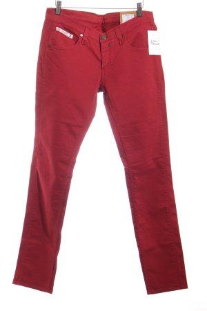 Herrlicher Slim Jeans dunkelrot Casual-Look