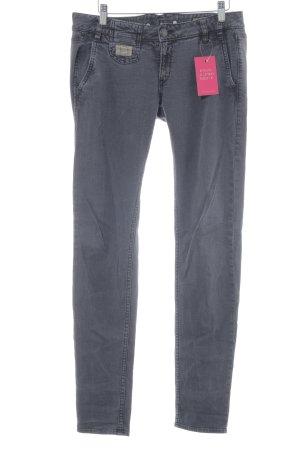 Herrlicher Slim Jeans grau Casual-Look