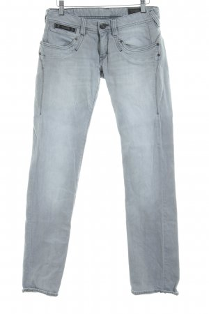 Herrlicher Slim Jeans light grey casual look