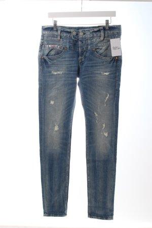 """Herrlicher Slim Jeans """"Herrlicher Bijou"""" kornblumenblau"""