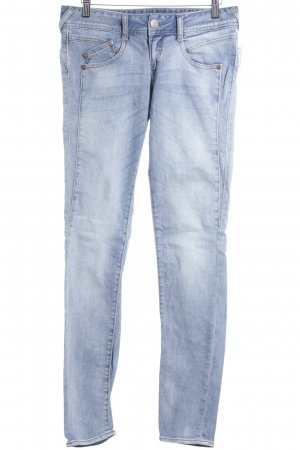 Herrlicher Slim Jeans himmelblau Jeans-Optik