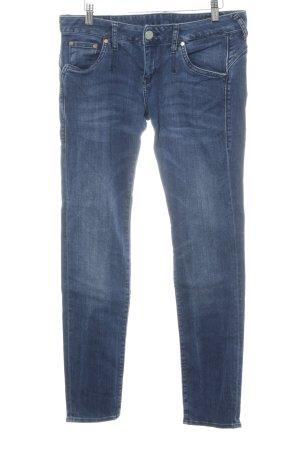 Herrlicher Slim Jeans mehrfarbig Washed-Optik