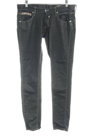Herrlicher Slim Jeans schwarz Casual-Look