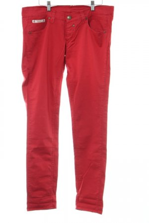 Herrlicher Stoffhose rot Casual-Look