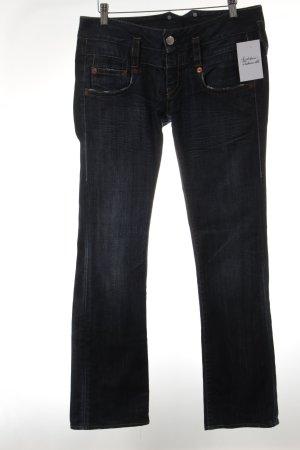 Herrlicher Straight-Leg Jeans dunkelblau Casual-Look