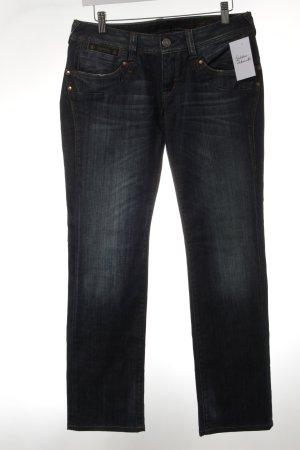 Herrlicher Straight-Leg Jeans graublau-blau Casual-Look