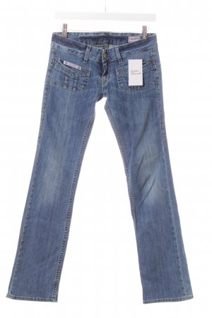 Herrlicher Straight-Leg Jeans hellblau Casual-Look