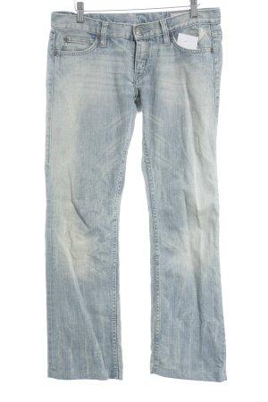 Herrlicher Straight-Leg Jeans hellblau schlichter Stil