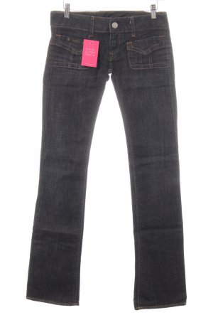 Herrlicher Straight-Leg Jeans hellgrau Casual-Look
