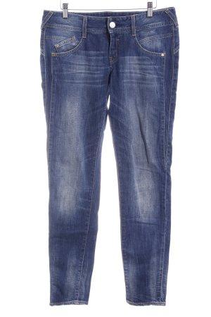 Herrlicher Straight-Leg Jeans mehrfarbig Washed-Optik