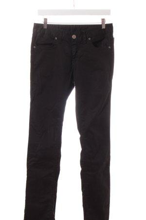 Herrlicher Straight-Leg Jeans schwarz Casual-Look