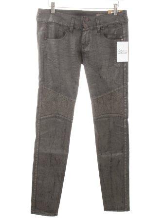 "Herrlicher Stretch Jeans ""Moira Slim Silver"" dunkelgrau"