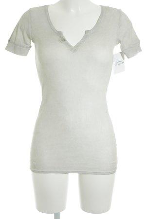 Herrlicher T-Shirt graubraun Casual-Look