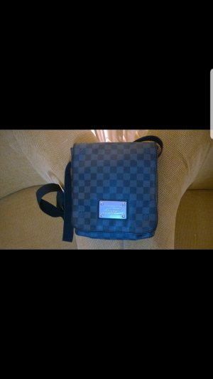 Louis Vuitton Marsupio nero-antracite Pelle