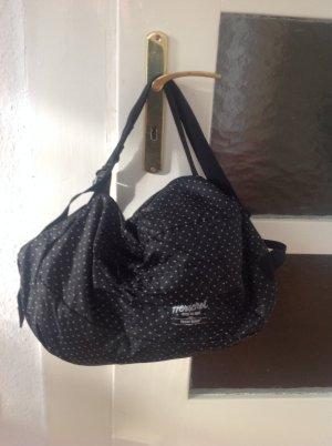 Herschel duffle bag, auch als Rucksack tragbar,  in Polka Dot Optik