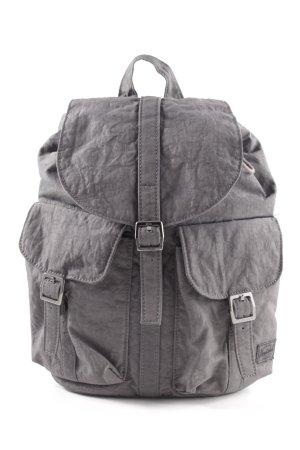 Herschel School Backpack light grey simple style