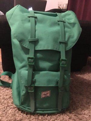 Herschel School Backpack green synthetic material