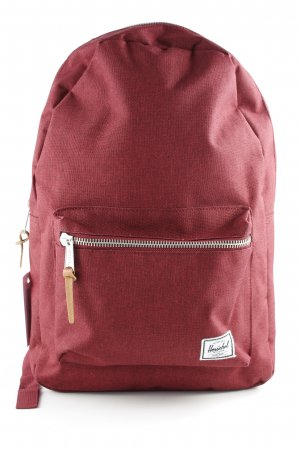 Herschel Notebookrucksack karminrot Casual-Look