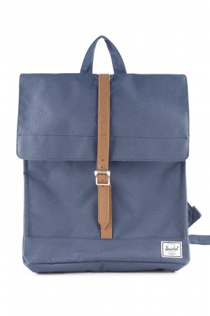 Herschel Laptop Backpack steel blue-brown urban style