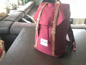 Herschel Zaino laptop rosso scuro-bordeaux