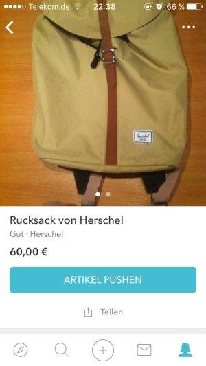 Herschel Rucksack in beige