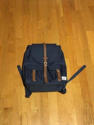 Herschel Zaino laptop bronzo-blu acciaio Poliestere