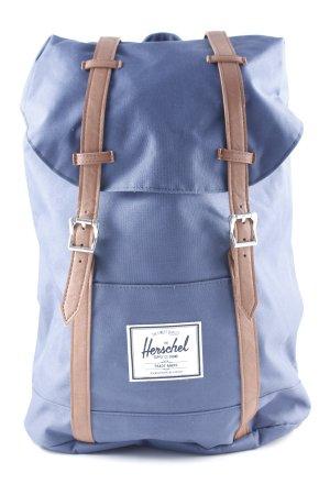 Herschel School Backpack dark blue-light brown casual look