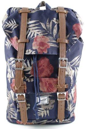 Herschel Schulrucksack florales Muster Street-Fashion-Look