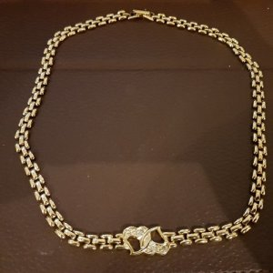 Necklace lime yellow