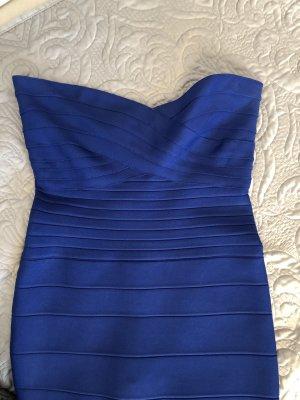 HERVE LEGER ultrasexy Kleid Größe M Blau
