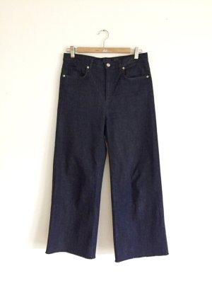 Hervorragende dunkelblaue Jeans von COS mit breit geschnittenem Bein