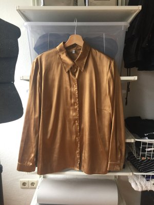 Vintage Oversized blouse goud-brons