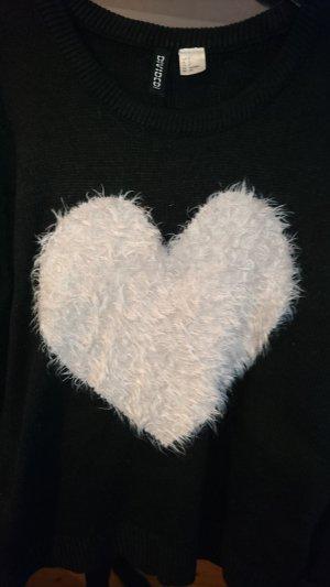 Herz Pullover