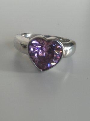 Herz Ring rosa Thomas Sabo aus 925 er Silber Größe 50 so süß
