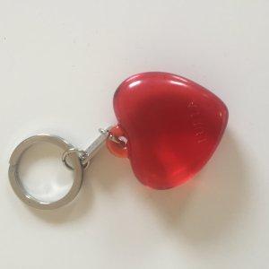 Furla Key Chain silver-colored-red