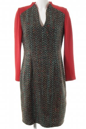 Herz & Stoehr Berlin Vestido de lana Patrón de tejido estilo extravagante