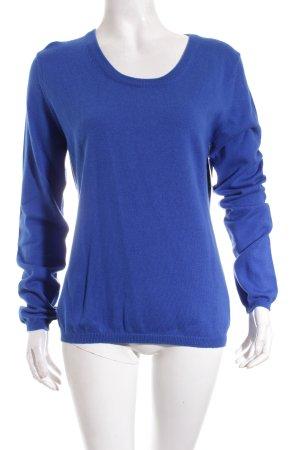 Herzblick Pullover blau Casual-Look
