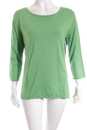 Herzblick Pullover grün Casual-Look