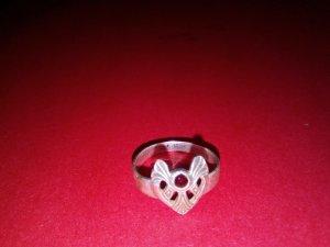 Herzchen Ring 925er Silber