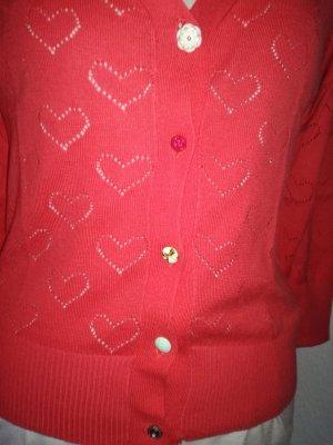 Herzchen Strickjacke von Yumi