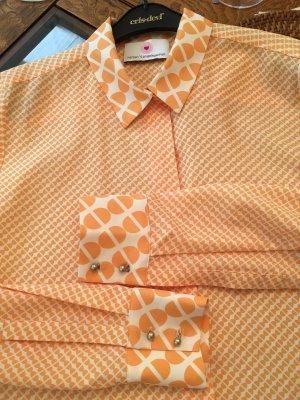 Herzensangelegenheit Bluse in leuchtendem Orange Gr. 38 WIE NEU