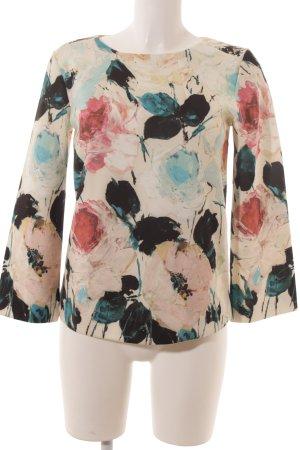 Herzensangelegenheit Langarm-Bluse florales Muster Casual-Look