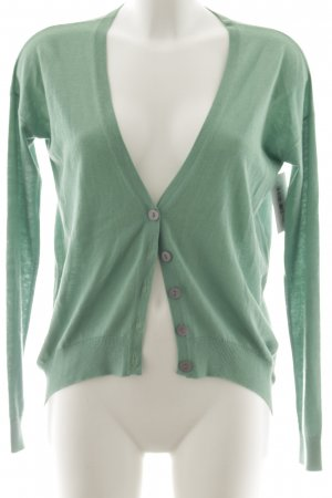 Herzensangelegenheit Strickjacke grasgrün Casual-Look