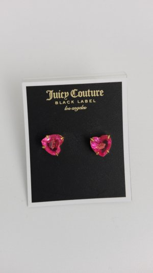 Juicy Couture Ear stud pink metal