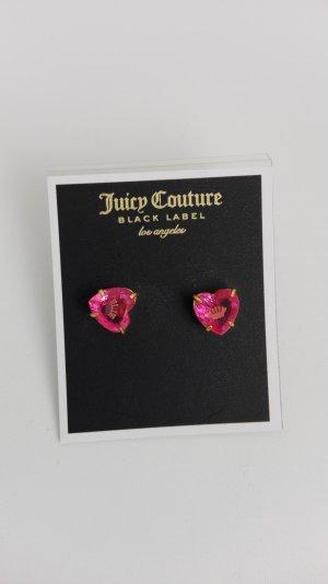 Juicy Couture Oorstekers goud-roze