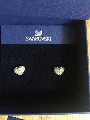 Herzförmige Swarovski Ohrringe