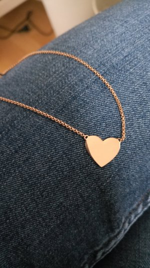 Thomas Sabo Necklace rose-gold-coloured real silver