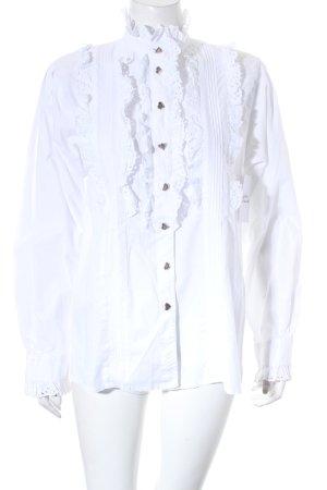Hess Frackmann Folkloristische blouse wit country stijl